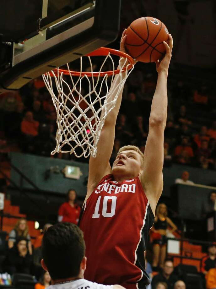 Stanford's Michael Humphrey has averaged 10.9 points and 7.2 rebounds over the last seven games. (AP Photo/Timothy J. Gonzalez) Photo: Timothy J. Gonzalez, Associated Press