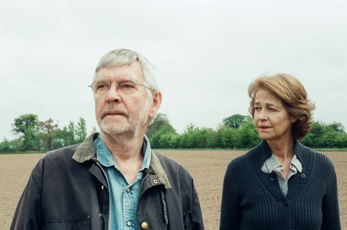 Tom Courtenay (Geoff) and Charlotte Rampling (Kate) in Andrew Haigh?•s