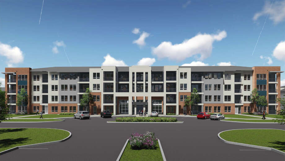 Brooks City Base and developer NRP Group are working to build a new residential project called The Residences at Kennedy Hill, a 306-unit high-end apartment project at the former Air Force base. Photo: Illustration Courtesy Of NRP Group