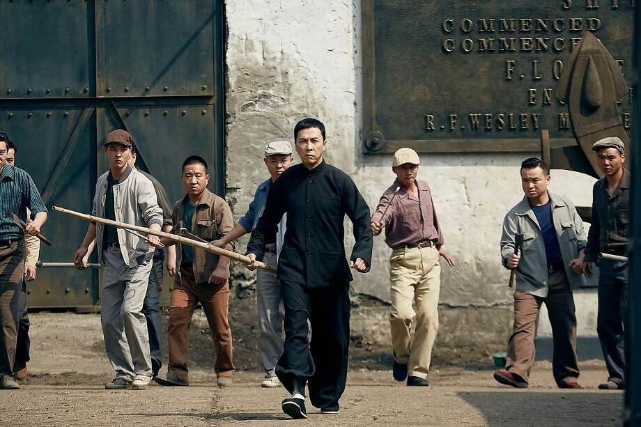 "Donnie Yen is compelling in his role as a renowned 20th century Chinese grandmaster of fighting arts in ""Ip Man 3."" Photo: Well Go USA"