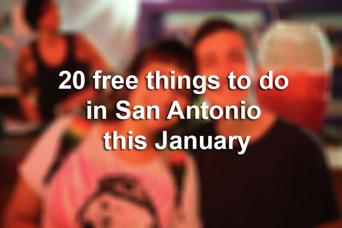 San Antonian events to enjoy during January that will not cost you a thing.