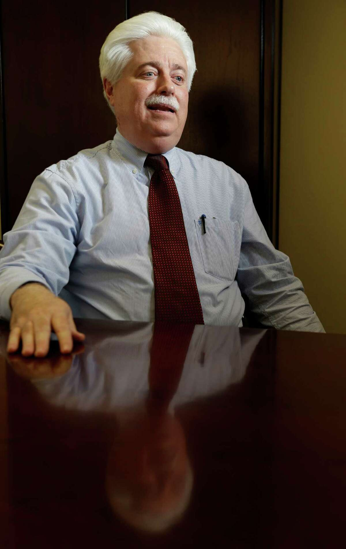 Stan Stanart, Harris County County Clerk, talks in his office at 201 Caroline Wednesday, Jan. 13, 2016, in Houston.