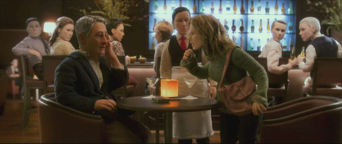 ANOMALISA: 5 stars Charlie Kaufman and Duke Johnson co-direct this tale about a man who is forced out of his emotional shell. (R) Read the review: 'Anomalisa' a miraculous, funny love story