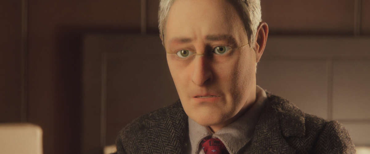 """This photo provided by Paramount Pictures shows, David Thewlis voices Michael Stone, in the animated stop-motion film, """"Anomalisa,"""" by Paramount Pictures. The film opens in U.S. theaters in Jan. 2016. (Paramount Pictures via AP)"""