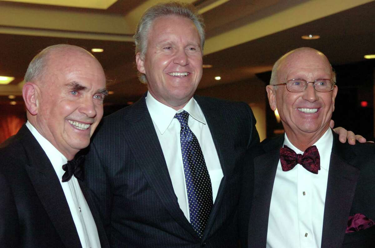 Jack Mitchell, Jeff Immelt and Bill Mitchell at the Inner-City Foundation for Charity and Education, in Greenwich, in 2008.
