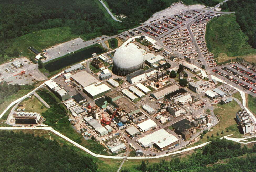 Unclassified 1996 photo of the Kesselring nuclear reactor site in West Milton, N.Y. (New York State Division of Military and Naval Affairs)