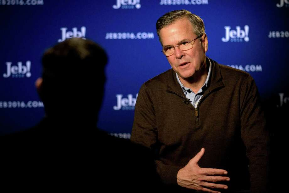 Republican presidential candidate Jeb Bush has announced a plan to end established anti-poverty programs such as food stamps, cash welfare payments, rent subsidies and public housing. He'd replace them with block grants that states could apply for, assuming states would even be willing to create entirely new social safety nets. Photo: Jae C. Hong /Associated Press / AP