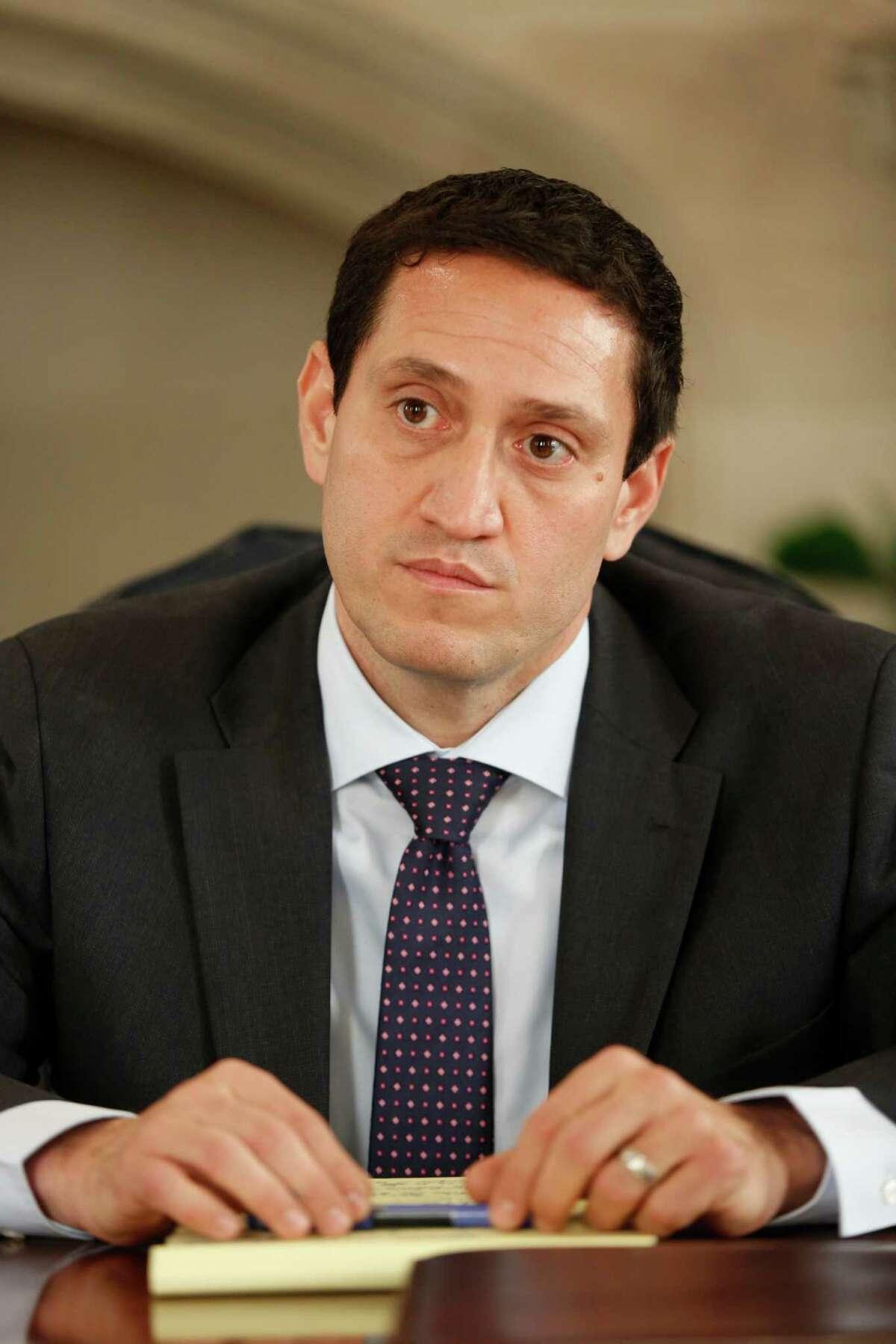 Rep. Trey Martinez Fischer is opposing incumbent José Menéndez for his Senate seat.