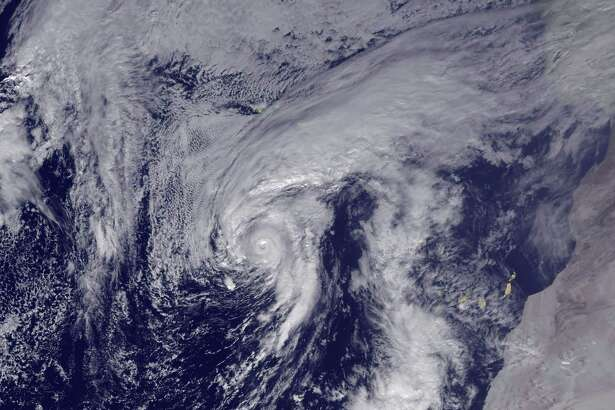 Hurricane Alex was upgraded from a sub-tropical storm Thursday. Alex is the first named storm to form in the Atlantic in January since 1978 and the first January-born hurricane since 1938. Alex could make landfall Friday on Portugal's Azores Islands, 900 miles off the European mainland.