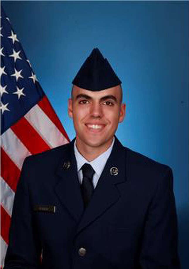 Air Force Reserve Airman 1st Class John M. Fager has completed basic military training at Joint Base San Antonio-Lackland. Photo: Courtesy / U.S. Air Force