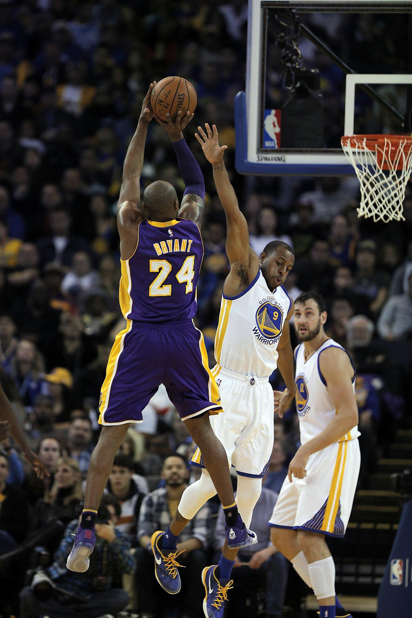 Kobe Bryant's last game in Oakland lacks in drama - SFGate