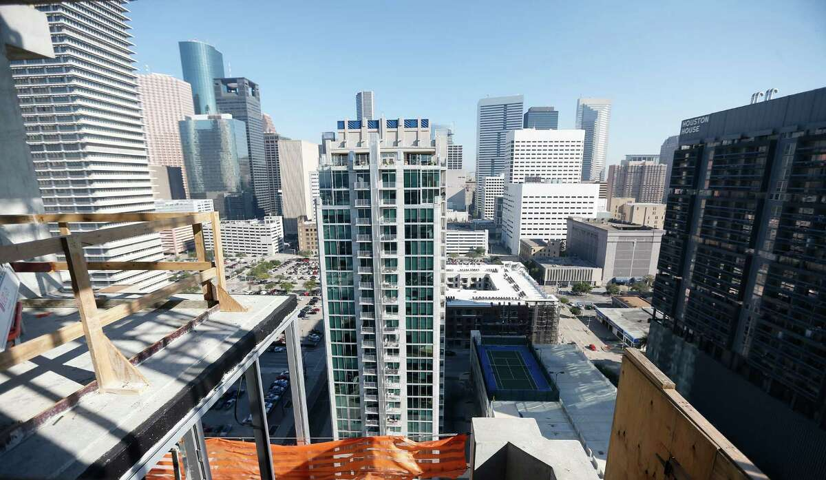 SkyHouse Houston opened last year, and its twin is under construction nearby.