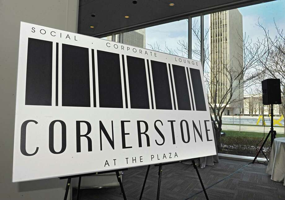 Cornerstone at the Plaza is revealed as the new restaurant in the space which was formerly Sign of the Tree restaurant at the Empire State Plaza on Thursday Jan. 14, 2016 in Albany, N.Y. (Lori Van Buren / Times Union) Photo: Lori Van Buren / 10035001A