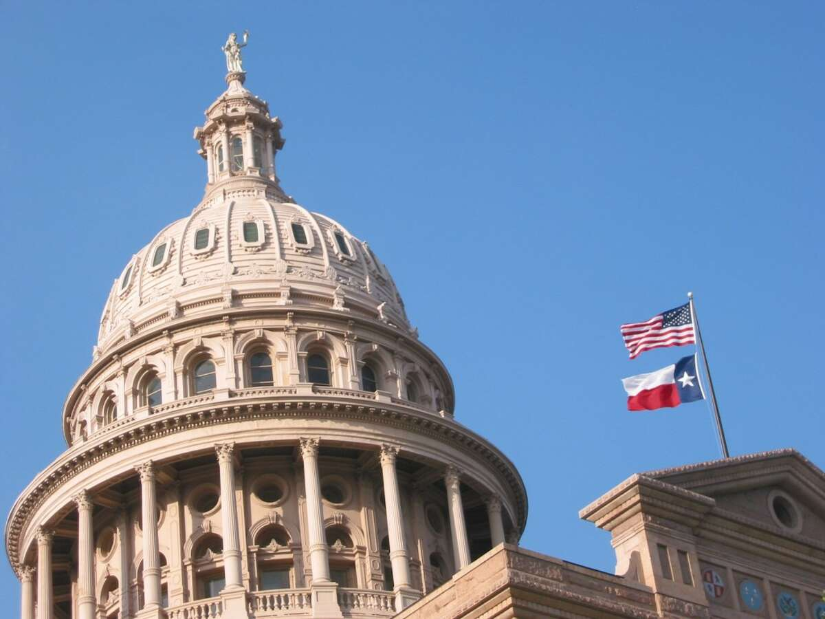 It's rumored that the statue at the top of Texas capitol building is holding a Lone Star beer.