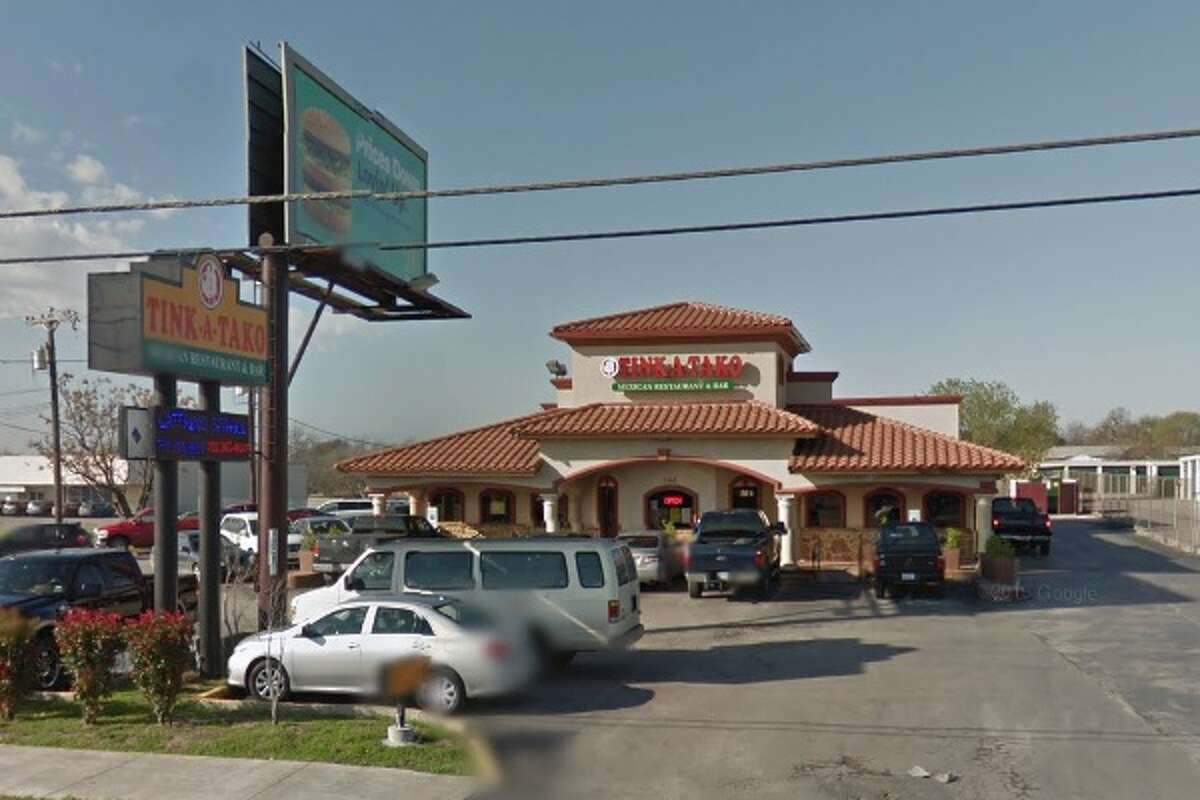 Tinka Tako #1: 3555 Fredericksburg Road, San Antonio, TX 78201 Date: 12/18/2017 Score: 69 Highlights: Inspector observed evidence of insects, rodents at establishment; food not held at correct temperature (milk, fajitas); equipment must be clean to sight/touch (refrigerator); food-contact surfaces must be clean to sight/touch (chip baskets had food debris in them); employees must wash hands before putting on gloves; food handlers must have certifications; consumer consumption advisory needed for raw, undercooked foods; food must be cooled using correct methods; food not protected from contamination; cups must be dried before they are stacked; non-food contact surfaces must be clean to sight/touch