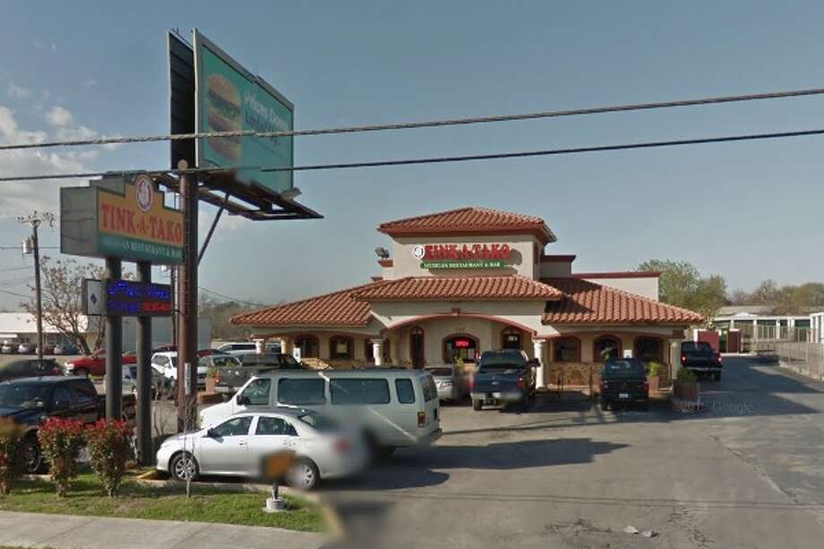 Tinka Tako #1: 3555 Fredericksburg Road, San Antonio, TX 78201Date: 12/18/2017 Score: 69Highlights: Inspector observed evidence of insects, rodents at establishment; food not held at correct temperature (milk, fajitas); equipment must be clean to sight/touch (refrigerator); food-contact surfaces must be clean to sight/touch (chip baskets had food debris in them); employees must wash hands before putting on gloves; food handlers must have certifications; consumer consumption advisory needed for raw, undercooked foods; food must be cooled using correct methods; food not protected from contamination; cups must be dried before they are stacked; non-food contact surfaces must be clean to sight/touch Photo: Google Street View/Maps