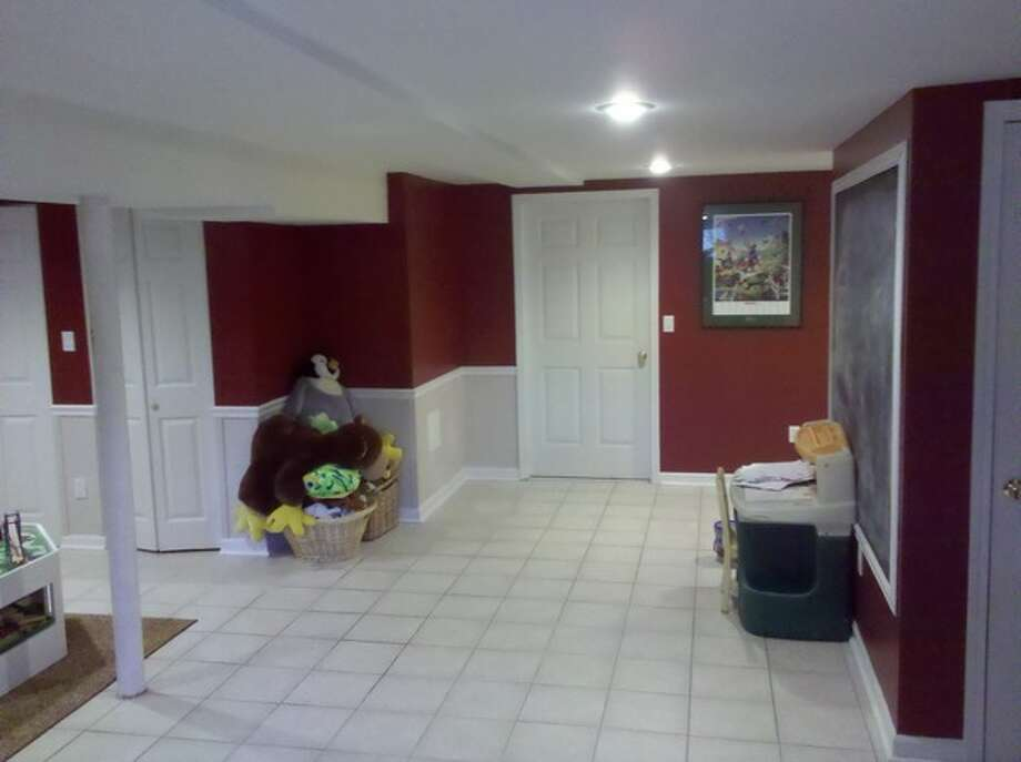 Thinking of fixing up your basement? Take a look at some before and after photos provided by our Times Union Home Expo exhibitors. Photo of a partially finished basement in Schenectady after waterproofing by Adirondack Basement Systems. Photo: Courtesy Of Adirondack Basement Systems
