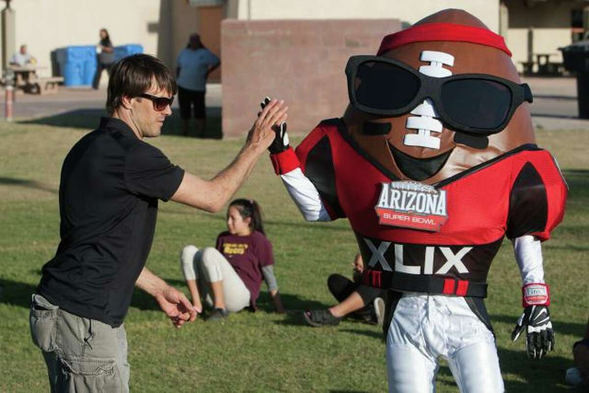 Spike - Arizona's Super Bowl XLIX mascot.