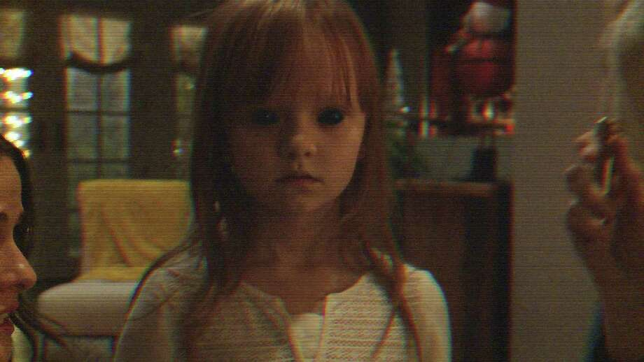 "Leila's imaginary friend is up to no good in ""Paranormal Activity: The Ghost Dimension."" Photo: Paramount Pictures / Paramount Pictures"