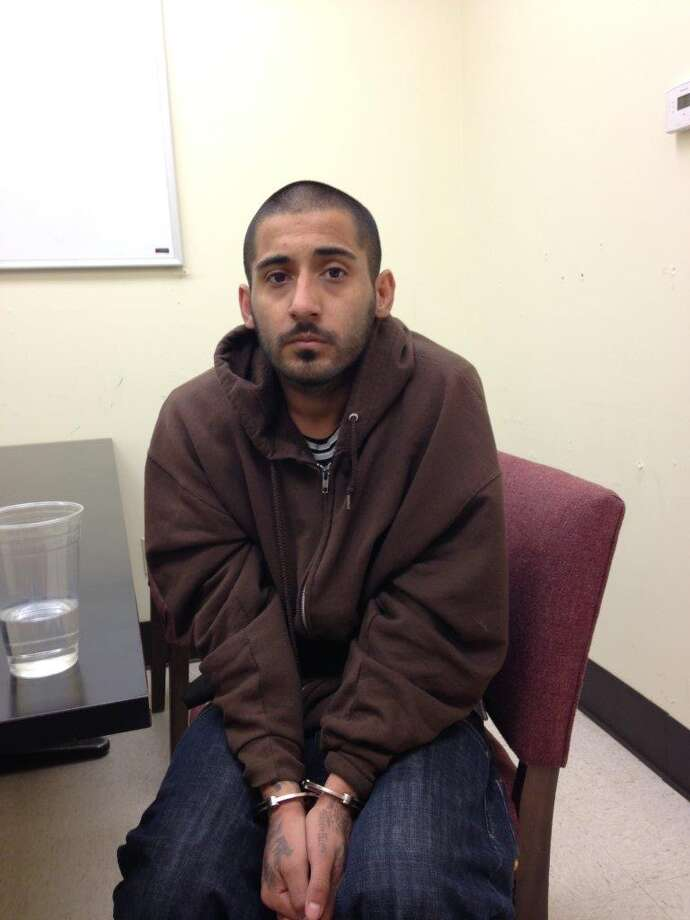 John Alameda, 28, was arrested for marijuana possession and for trying to sell a piece of body armor to undercover cops. He's a convicted felon, so possessing body armor is a felony.