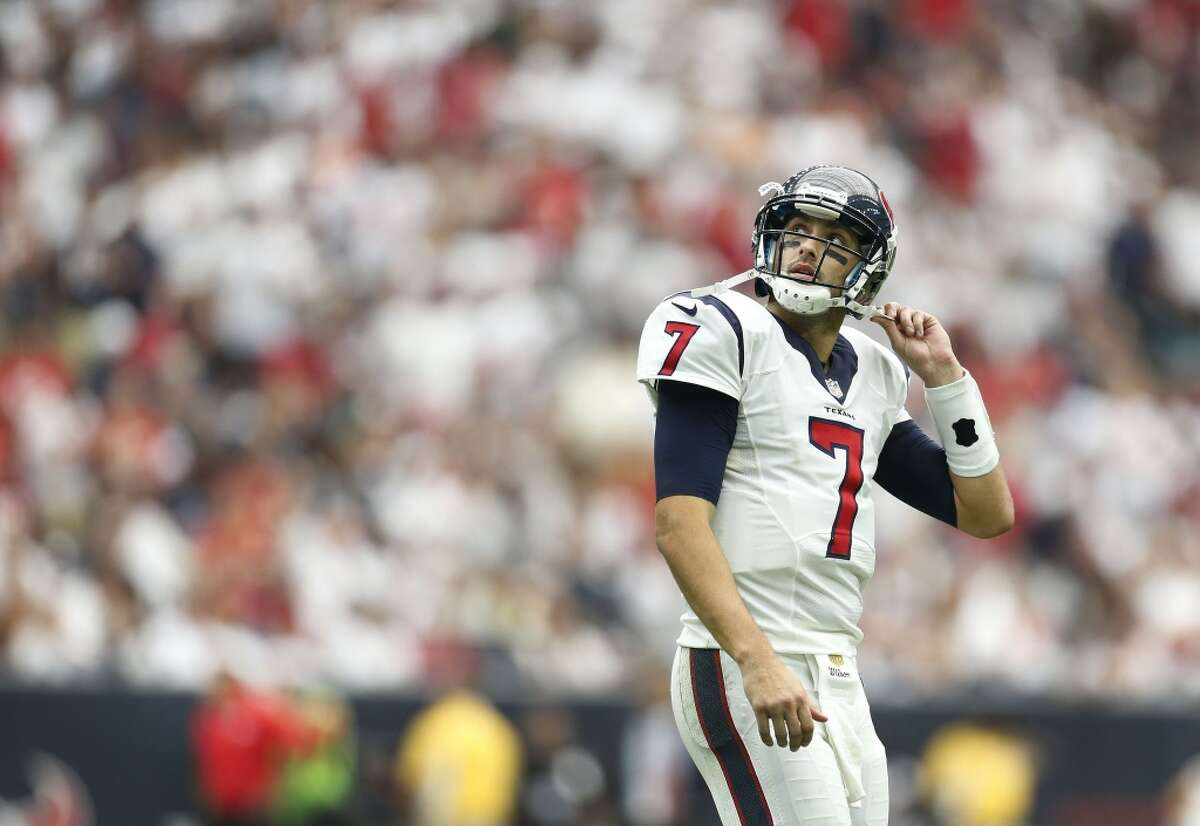 QUARTERBACK On roster: Brian Hoyer (pictured), Brock Osweiler, Tom Savage, Brandon Weeden, T.J. Yates, B.J. Daniels. Needs: Everyone in the NFL knows this is the biggest need on the team. Draft: The Texans were expected to use a first-round pick on a quarterback, but with the signing of Brock Osweiler, it looks like the Texans are set. Free agency:The signing of Brock Osweiler from the Broncos cements the Texans' quarterback position.