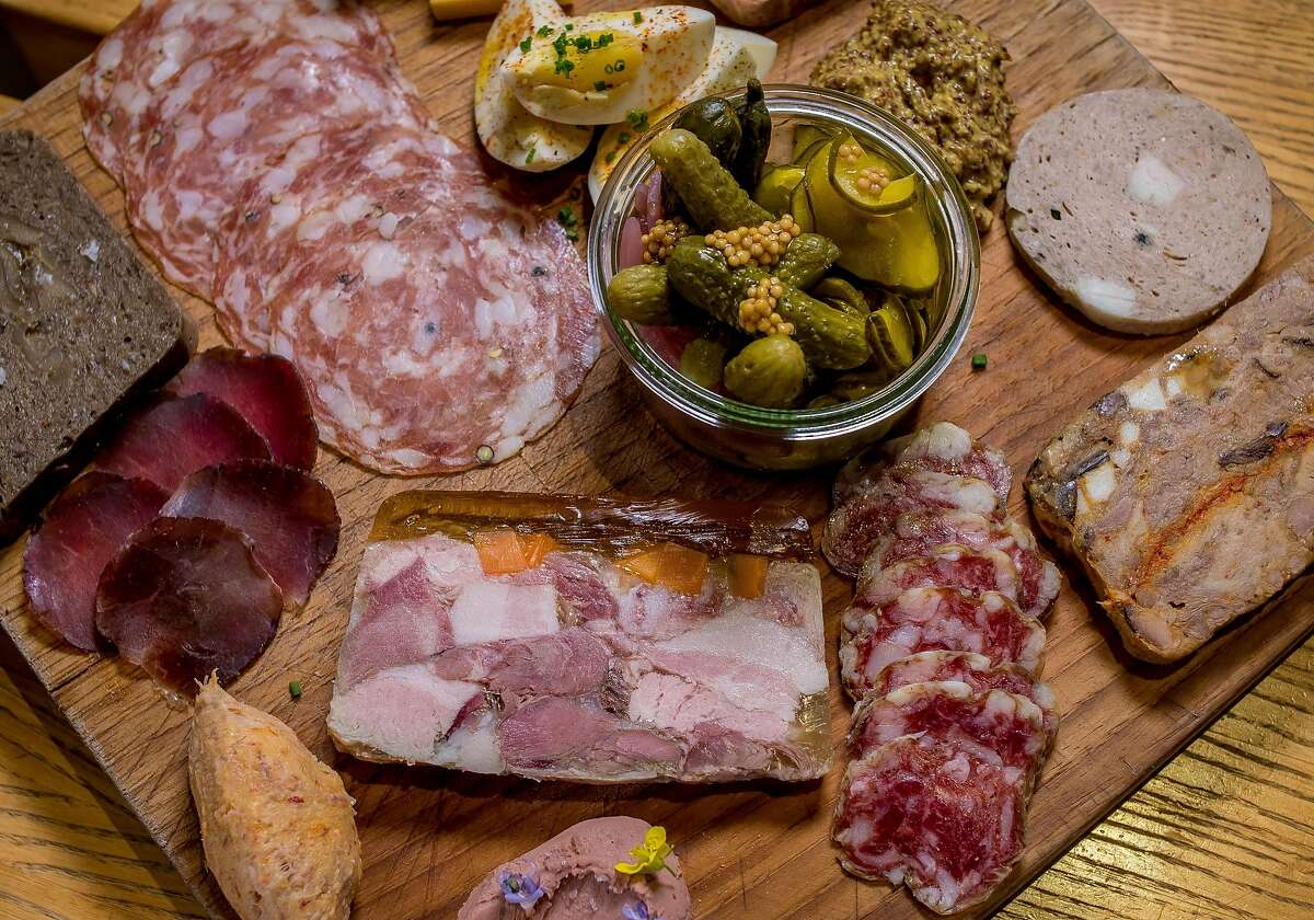 The Charcuterie Plate at the Shed in Healdsburg, Calif., is seen on Thursday, January 14th, 2014.