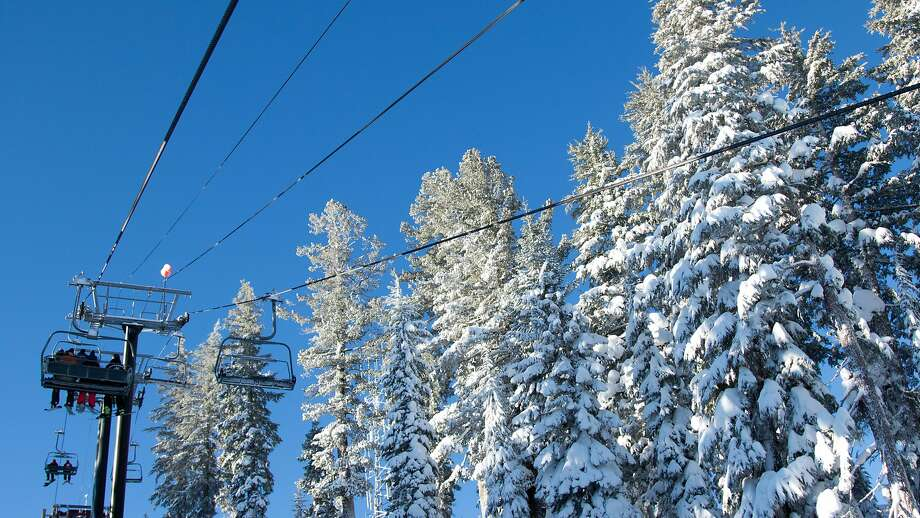 Riders enjoy blue skies at Northstar Resort near Lake Tahoe Friday Jan. 15, 2015, where 18 inches of snow fell overnight. Photo: Courtesy, Vail Resorts