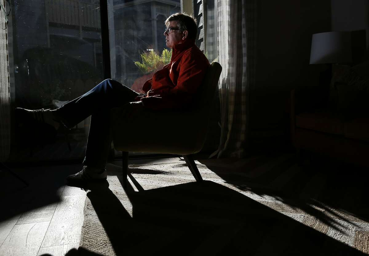 Michael Flanagan pictured in a model one bedroom condo unit in The Shores at Marina Bay, where Flanagan's future home is located Nov. 27, 2015 in Richmond, Calif. Flanagan realized that if he left San Francisco, he could save a lot of money and own property.