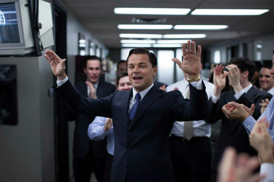 "Leonardo DiCaprio as Jordan Belfort in 'The Wolf of Wall Street,"" featured a tale of investor fraud. One key component in better private enforcement against fraud lies in settling on attorney fees in cases upfront. Photo: Mary Cybulski /Associated Press / Paramount Pictures"