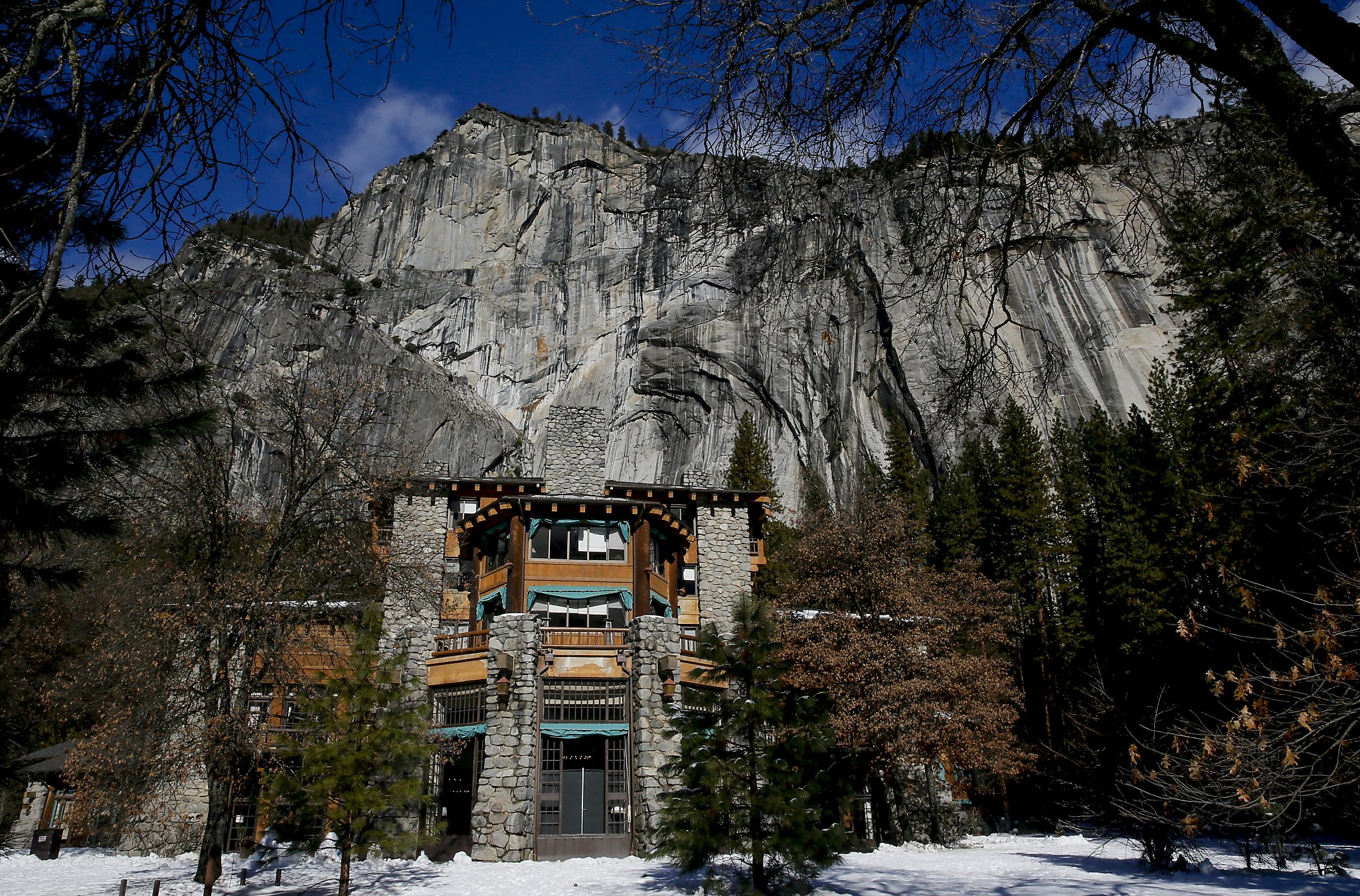 The Ahwahnee In Yosemite National Park Calif On Fri January 15 2016