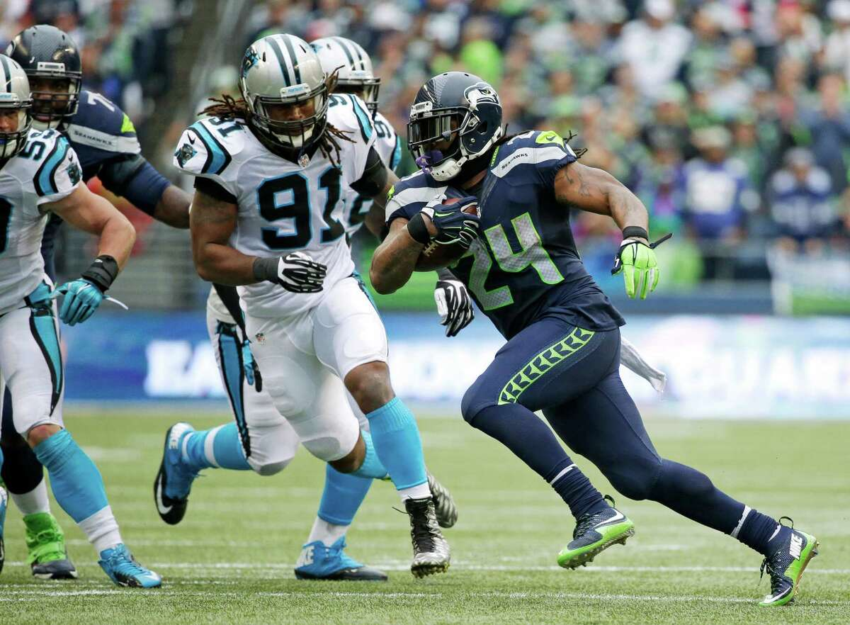Player in focus (offense):RB Marshawn Lynch We made Lynch our player to watch last week, only to be thwarted by Beast Mode's last-minute revelation that he wasn't ready to make his return from an abdominal injury that cost him much of the regular season. Lynch was listed as probable on Seattle's Friday injury report and even proclaimed