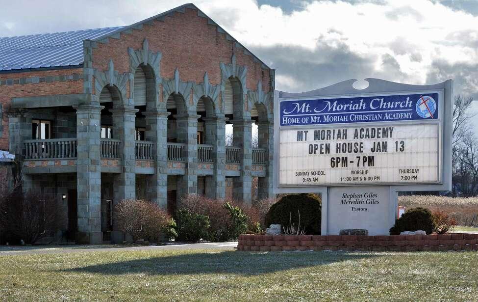 Mt. Moriah Church Wednesday Jan. 13, 2016 in Glenmont, NY. (John Carl D'Annibale / Times Union)