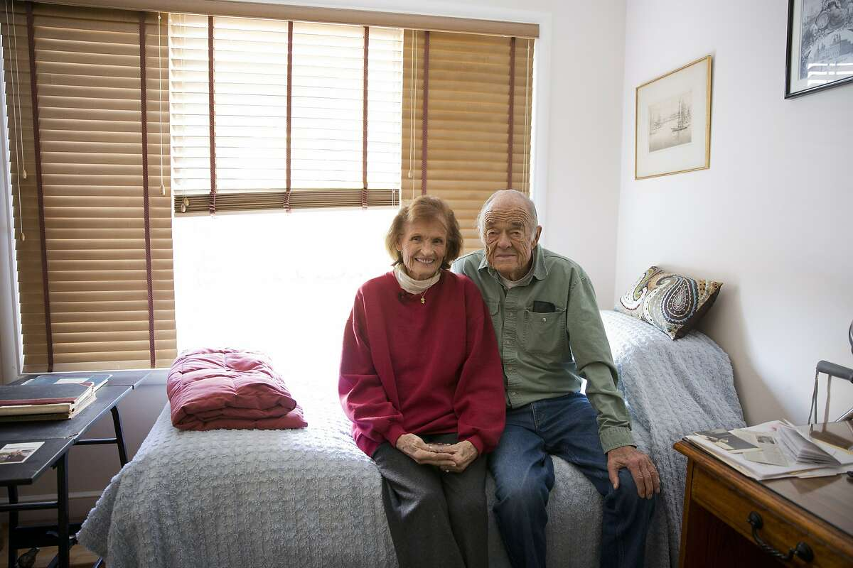Margaret and Walt Schneebeli in their home. The couple has been married for 45 years.