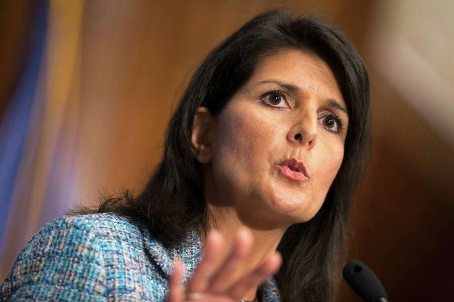 South Carolina Gov. Nikki Haley provided an example of true bipartisan spirit when she chided both political parties for Washington dysfunction. Photo: Evan Vucci /Associated Press / AP