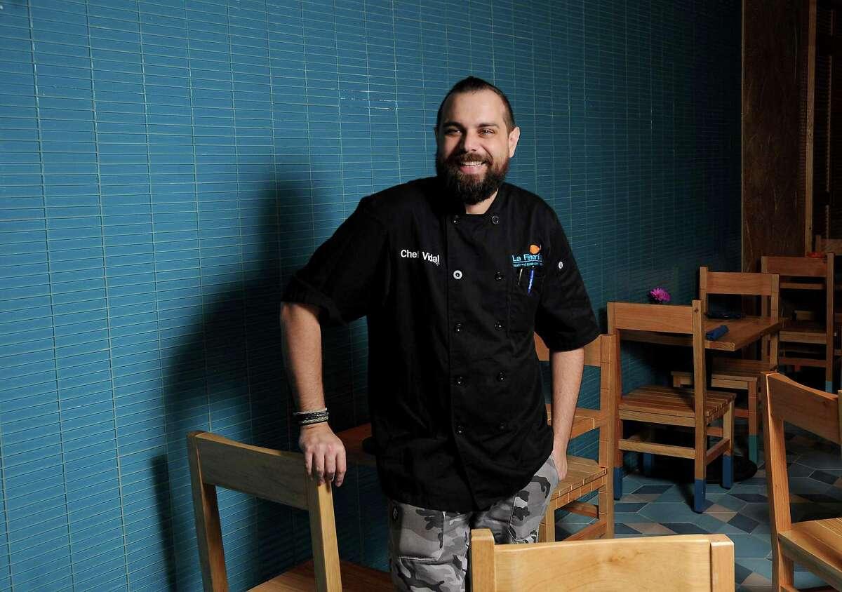 Chef Vidal Elias of the new La Fisheria says Houstonians take food seriously.