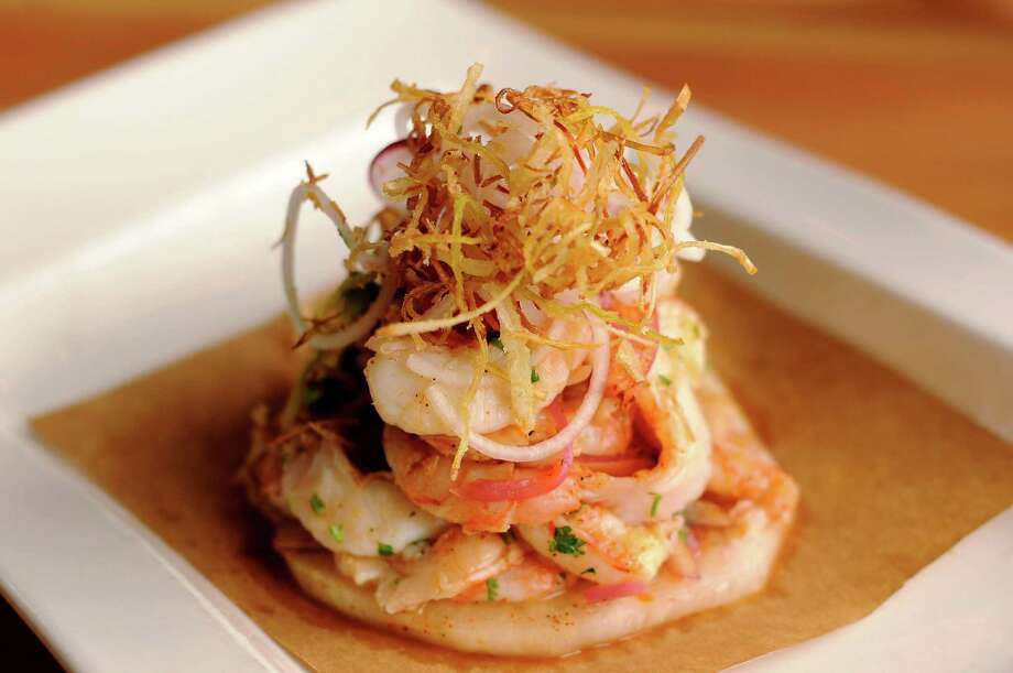 La Fisheria213 Milam, (713) 802-1712The deal: This popular seafood spot is offering a special menu featuring ceviche, tamal de elote con camarones and tres leches all weekend long Friday-Sunday, Feb. 12-14. It costs $39.99 for lunch; dinner is $49.99, and is the same menu but with wine. Photo: Dave Rossman, Freelance / Freelalnce