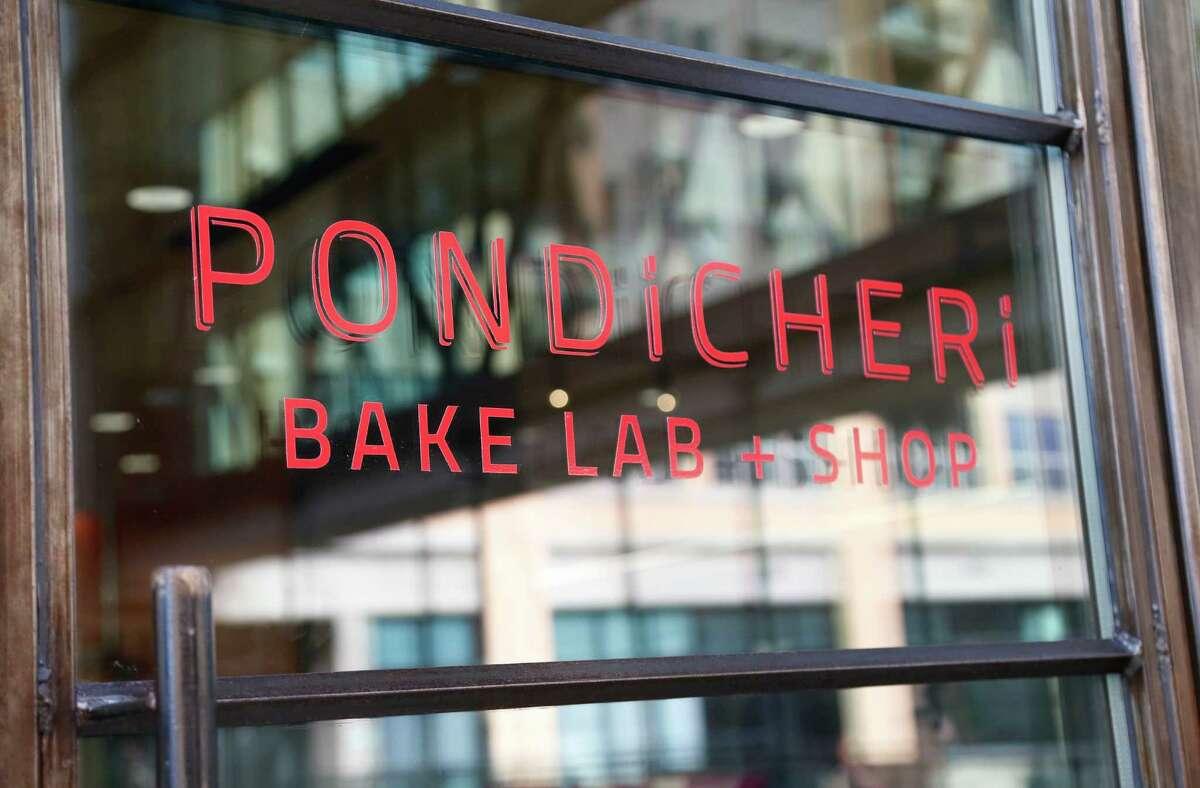Pondicheri Bake Lab is located above the main Pondicheri restaurant in West Ave at Kirby. ( Karen Warren / Houston Chronicle )