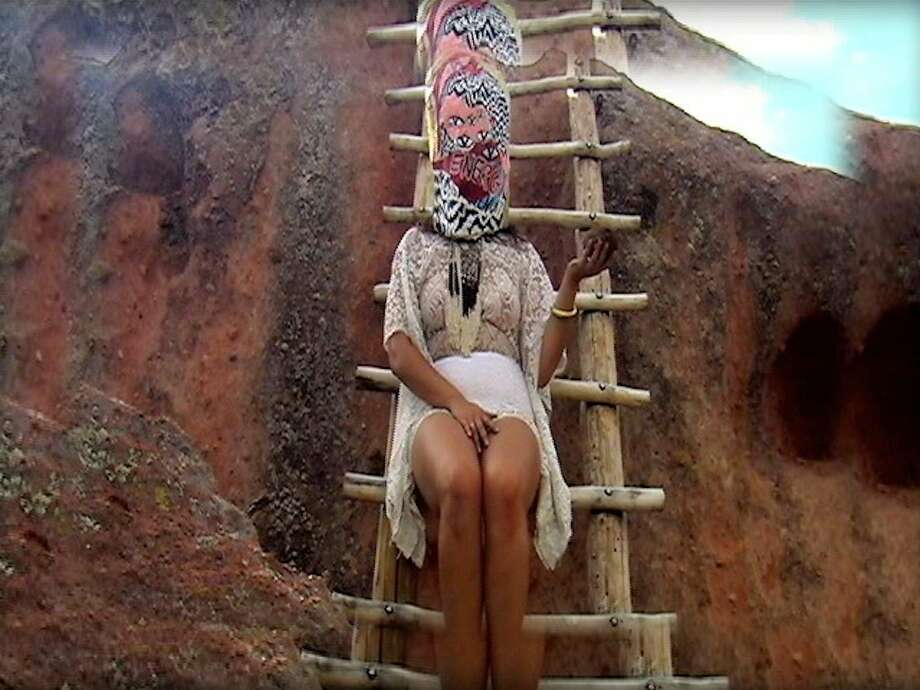 """A still from a piece called """"The Initiation"""" created by Black Salt Collective. Photo: Black Salt Collective"""
