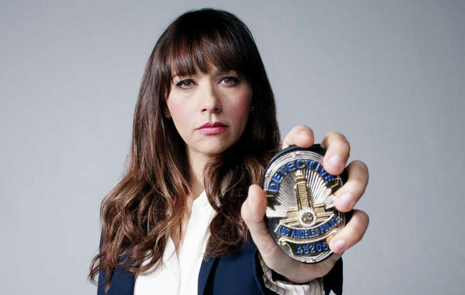 """Rashida Jones stars in """"Angie Tribeca,"""" a spoof of TV's omnipresent police procedurals on TBS. Photo: Turner Networks / TM & (c) Turner Entertainment Networks. A Time Warner Company. All Rights Reserved."""