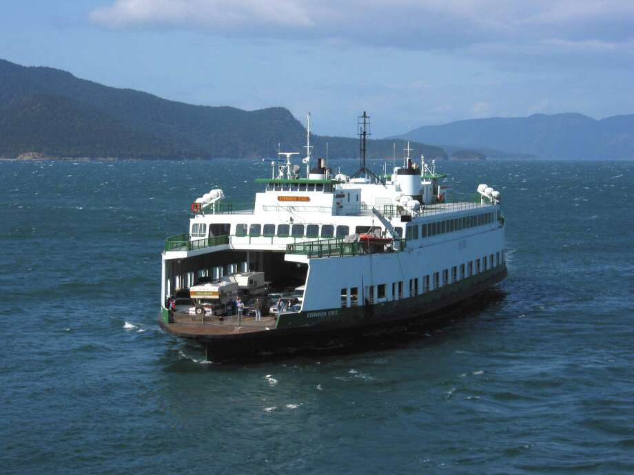 The M/V Evergreen State will soon be off to warmer waters, specifically the south Caribbean, after it was sold to a company that plans to operate it as a ferry there. The boat was built in 1954 and served on the San Juan islands route from 1959 until 2014. She was decommissioned officially in 2016.  Photo courtesy WSDOT. Photo: Courtesy WSDOT