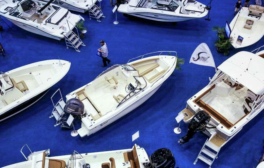 The Houston International Boat, Sport & Travel Show starts Friday and runs through Jan. 15. Photo: Michael Ciaglo, Staff / © 2016  Houston Chronicle