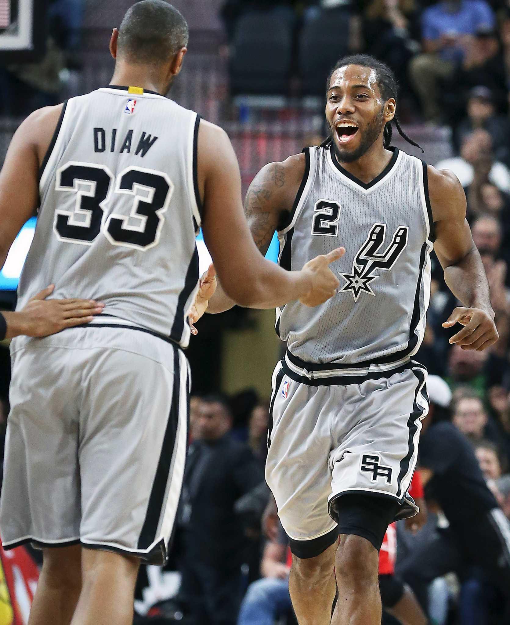 ... Boris Late push makes Spurs Leonard All-Star starter - San Antonio  Express-News ... 2ec463bd8
