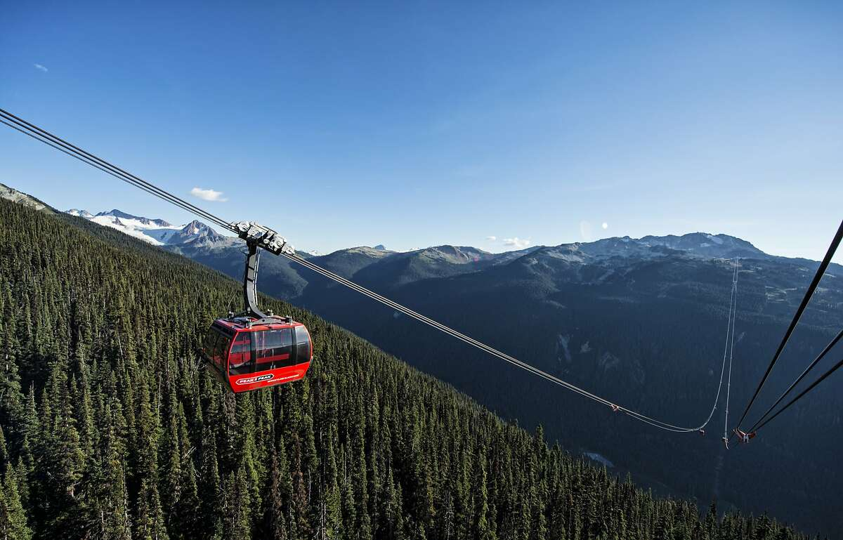 The Peak 2 Peak Gondola is highest lift of its kind at 1,427 feet above the valley floor.