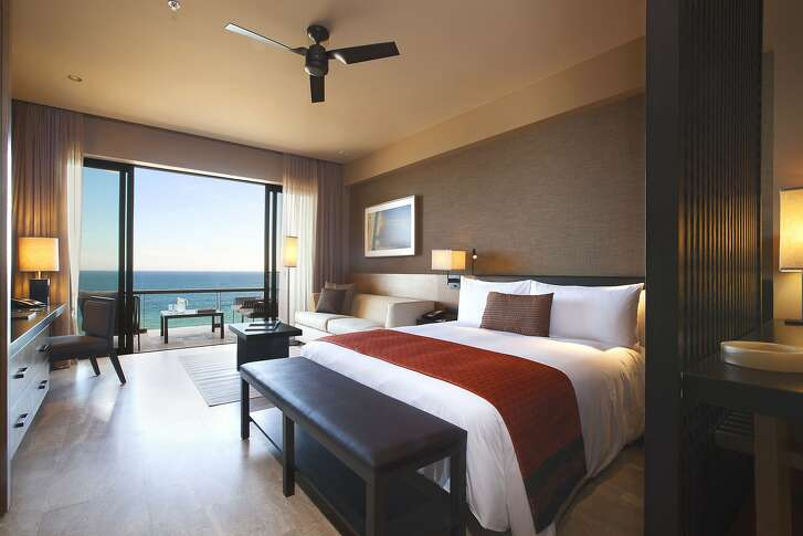 All of the 299 rooms at the new JW Marriott Los Cabos Beach Resort & Spa have an ocean view.