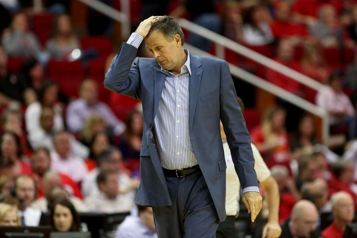 Former Rockets coach Kevin McHale expressed his surprise at being fired in November after just 11 games during an interview Tuesday with TNT. Click through the gallery for photos of McHale through the years.
