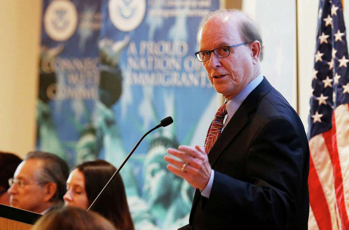 Bexar County Judge Nelson Wolff said he didn't know about the Biowatch Gen-2 system installed at least 10 years ago in San Antonio - then he admitted he did know. (Kin Man Hui/San Antonio Express-News)