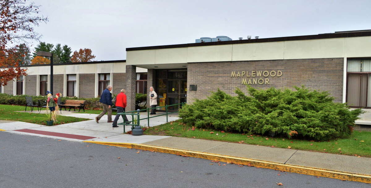 Entrance of Maplewood Manor nursing home in Ballston Spa Wednesday Oct. 24, 2012. (John Carl D'Annibale / Times Union)