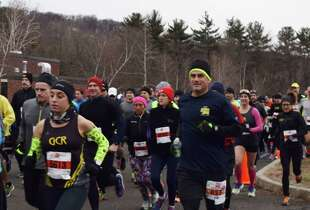 Were you SEEN at the Boston Buildup 15km race in Ridgefield on January 17, 2016?