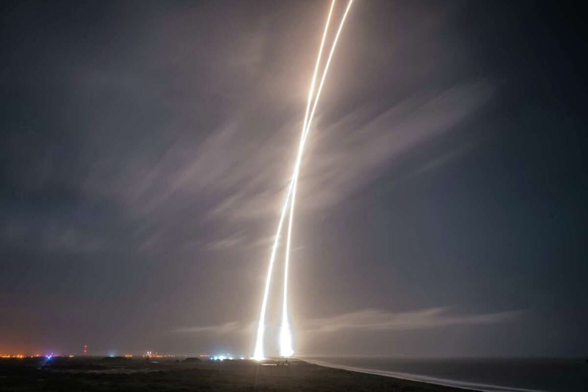 Falcon 9 First State Landing, December 28, 2015