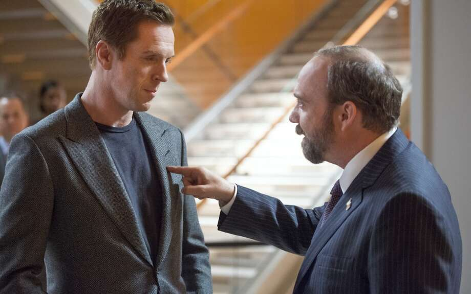 Billions, a new Showtime Wall Street drama pits acting heavyweights Damien Lewis against Paul Giamatti in a story about money, ambition and power. It debuts on Sunday, January 17th at 9 p.m. Photo: JoJo Whilden, JoJo Whilden/SHOWTIME